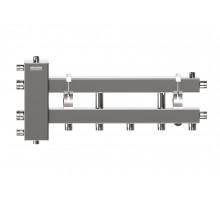 Балансировочный коллектор BMSS-100-3D (нерж., до 100 кВт, подкл. котла G 1¼″, 2+1 контура G 1″, реверсивное подключение на коллекторе G 1″)