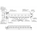 Балансировочный коллектор BM-150-7D (гидрострелка до 150 кВт с коллектором на 7 контуров)