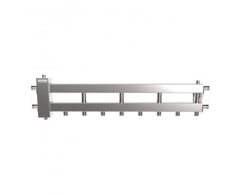 BMSS-60-5D (нерж., до 60 кВт, подкл. котла G 1″, 4+1 контура G 1″, 4D-кронштейны K.UMS, зеркальная полировка)